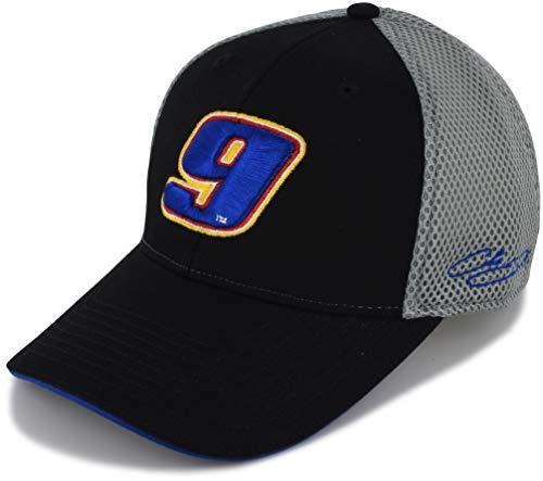 Kudzu Chase Elliott 2019 Performance Mesh #9 NASCAR Hat Black, Gray