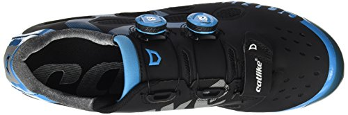 Catlike Azul de Negro Ciclismo Adulto de Whisper Negro Unisex 000 Zapatillas 2016 Montaña MTB 7Rxn7W4r