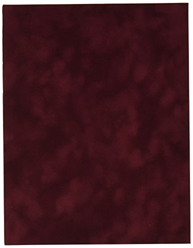 Sew Easy Industries 12-Sheet Velvet Paper, 8.5 by 11-Inch, Wine