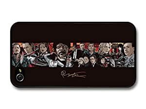Quentin Tarantino Movie Collage Illustration Pulp Fiction Kill Bill Inglorious Basterds case for iPhone 4 4S