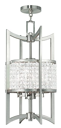 Livex Lighting 50566-91 Gramercy 4-Light Lantern, Brushed ()