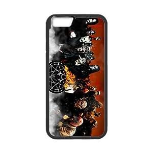 Slipknot y Mushroomhead funda iPhone 6 4.7 pufunda LGadas funda caja del teléfono celular cubren negro, funda iPhone 6 4,7 casos pufunda LGadas Funda negro