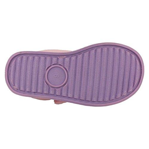 Disney ,  Mädchen Durchgängies Plateau Sandalen mit Keilabsatz Violett/Pink