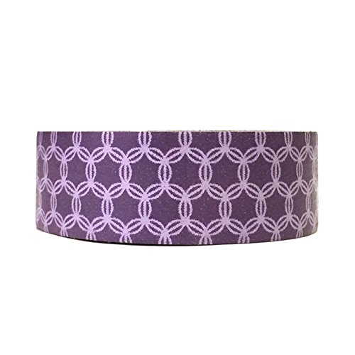 Wrapables Colorful Patterns Masking Purple
