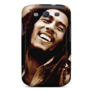 Shock Absorbent Cell-phone Hard Cover For Samsung Galaxy S3 With Support Your Personal Customized High Resolution Bob Marley Pictures MansourMurray