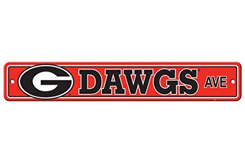 (Flagpole To Go NCAA Georgia Bulldogs Street Sign)
