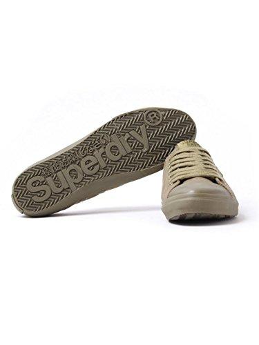 Superdry - Zapatillas de Lona para hombre verde verde