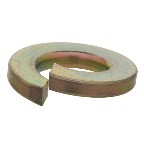 Crown Bolt 31462 1/2 Inch Yellow Zinc-Plated Grade 8 Lock Washers, 25-Count