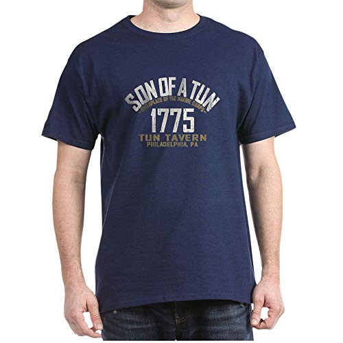 - CafePress Son of A Tun T Shirt 100% Cotton T-Shirt Navy