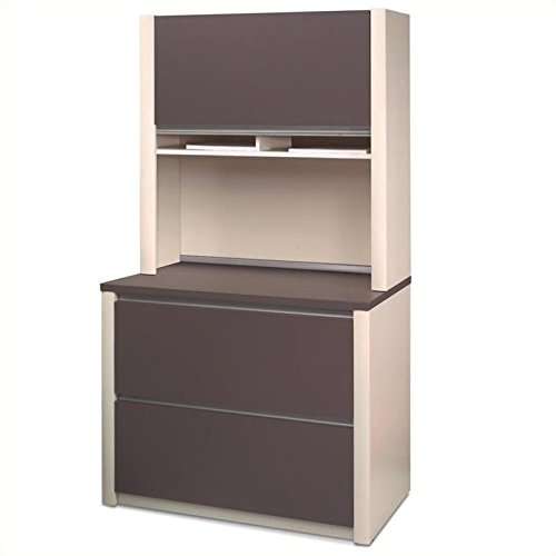Bestar Connexion Lateral File and Hutch Set by Bestar