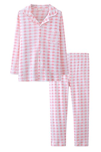 ASHERANGEL Classic Pajamas Button Up Cotton product image