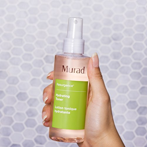 Murad Resurgence Hydrating Facial Toner - Step 1 Cleanse/Tone (6.0 fl oz), Alcohol-Free Toner that Replenishes and Refreshes Skin with Peach and Cucumber Extracts to Soothe and Minimize Irritation by Murad (Image #1)