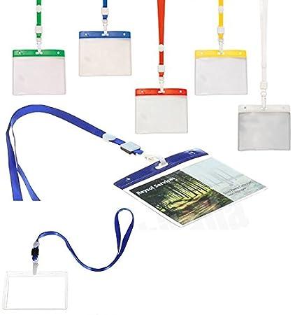 Takestop® Juego de 2 piezas para tarjeta identificativa ...