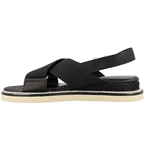 990 Black Sandals Fw0fw02241 Hilfiger Tommy qwRtzBxIW