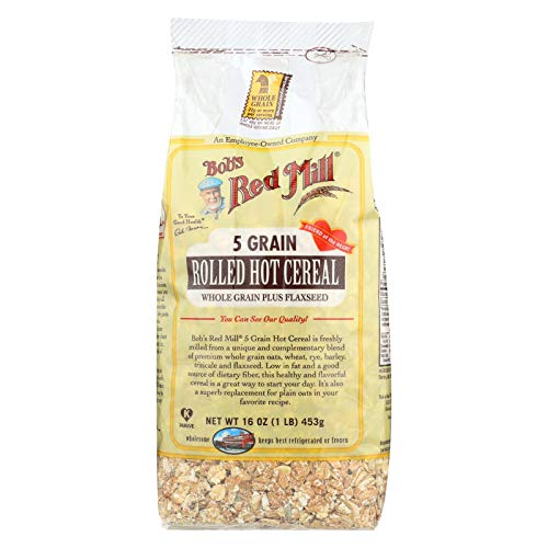 - Bobs Red Mill 5 Grain Rolled Hot Cereal - 16 oz - Case of 4