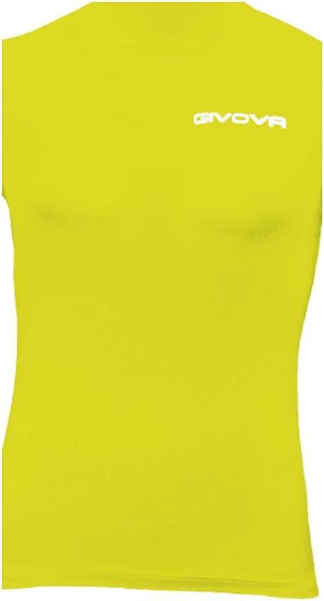 Givova, corpus 1 tanque elástico intimo, amarillo, XL