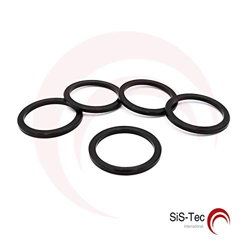 CENTRE RINGS DISTANCE RING ALUMINIUM RINGS 79.5 x 64.1 mm (Pack of 5) SiS-Tec
