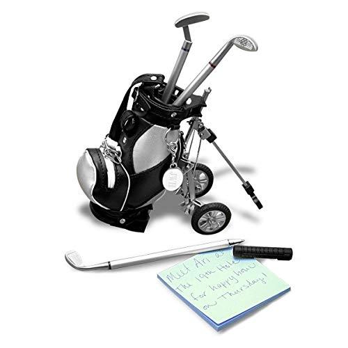 Amazon.com: 3 bolígrafos golfista bolsa de palos de golf ...