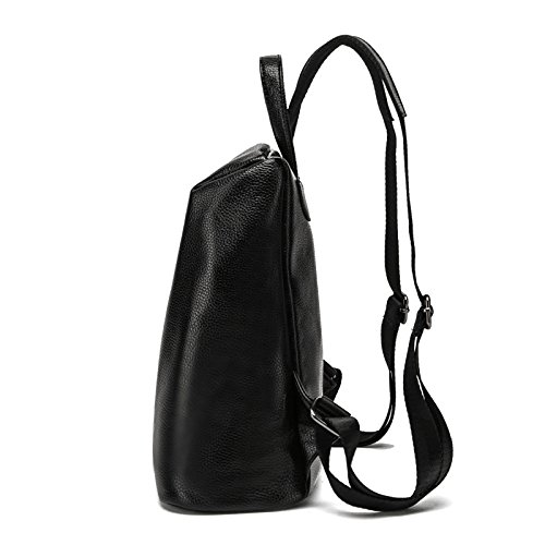 Nylonsection Bag 2018 Shoulder Pu Simple Litchi Woman Capacity Pattern Backpack Zipper Large nwr8P1Rnx