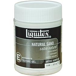 Liquitex Professional Natural Sand Effects Medium, 8-oz