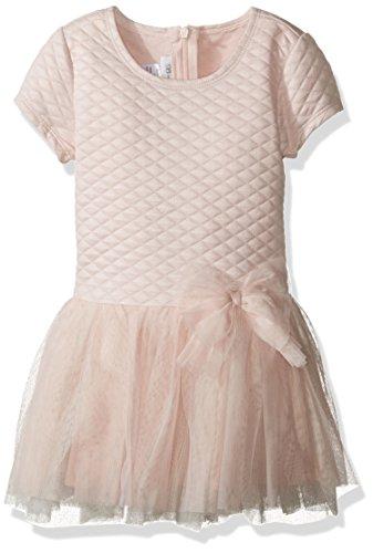 Bonnie Jean Little Girls' Toddler Quilted Ballerina, Pink...
