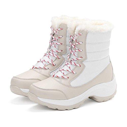 Chaussures D'hiver Bottes Pour Tm Cheville Colores Fashion Artificielle Neige Blanches De Femmes Travail Chaudes Peluche En D'extrieur qdYFHd