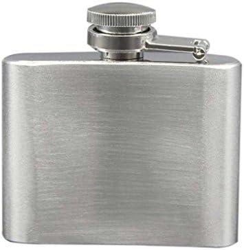 F-blue La Tapa de plástico de Acero Inoxidable Petaca Botella Flagon drinkware portátil de la Botella de Vino Whisky Pot Recipientes para Bebedor