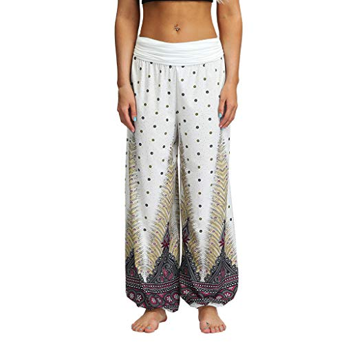 (Baggy Boho Aladdin Pants Men Women Casual Loose Hippy Yoga Trousers)