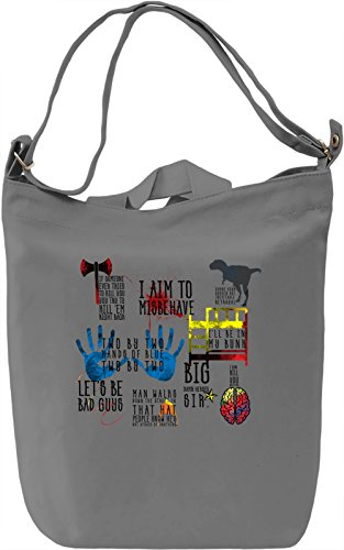 Best Firefly Quotes Borsa Giornaliera Canvas Canvas Day Bag| 100% Premium Cotton Canvas| DTG Printing|