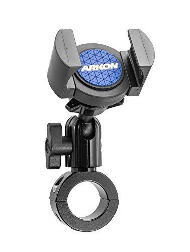 Arkon RoadVise Premium Aluminum Motorcycle Handlebar Phone Mount Black Retail