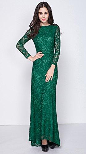 Vestito Donna 46 Green Fasciante Vimans x6wqHgw