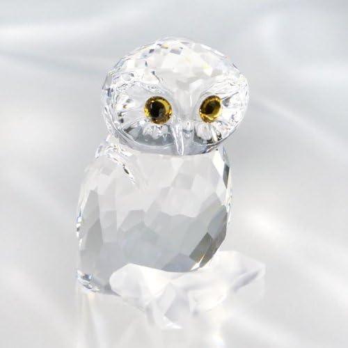 SWAROVSKI Owl Crystal Figurine, Small