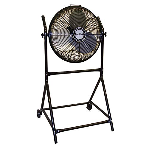 Air King 9219 18-Inch Industrial Grade High Velocity Roll-About Stand with Fan -