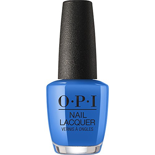 bright blue opi nail polish - 7