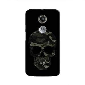Cover It Up - Camo Skull Moto X2 Hard Case