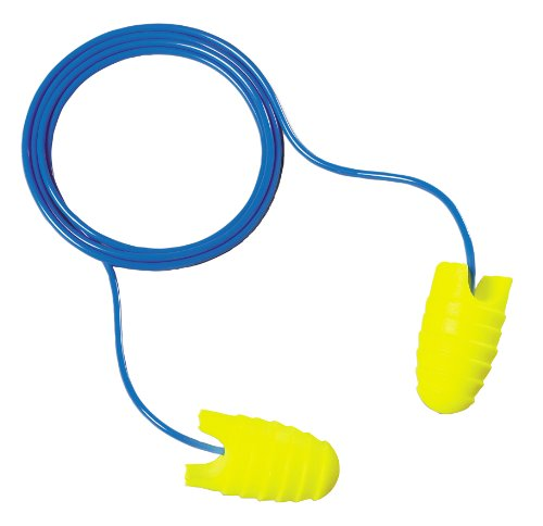 3M E-A-Rsoft Grippers Corded Earplugs, Hearing Conservation 312-6001 by 3M Personal Protective Equipment