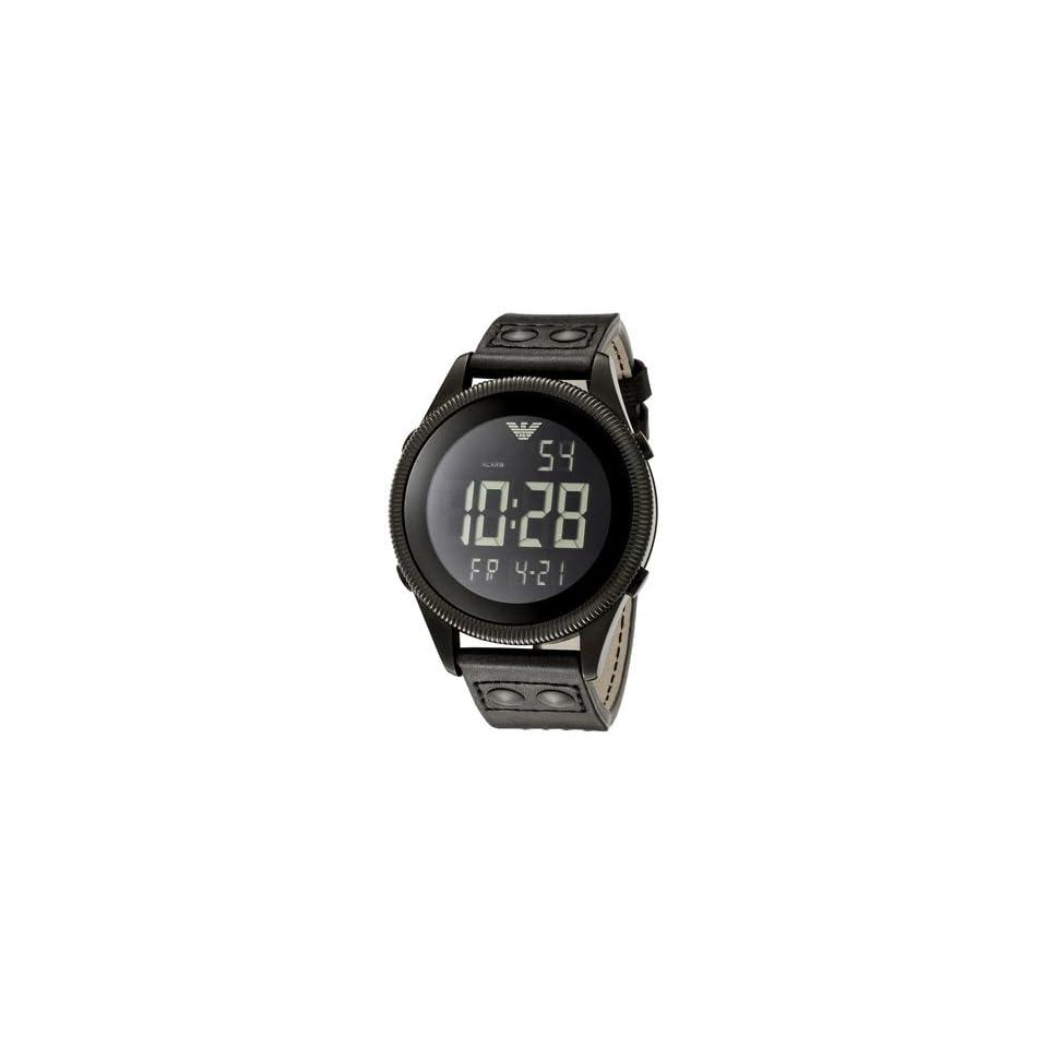 Emporio Armani Mens Digital Chronograph watch #AR0637