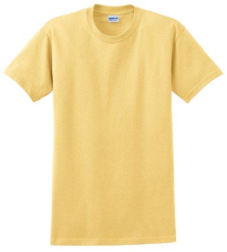 Gildan Ultra Herren T-Shirt (L) (Hellgelb) L,Hellgelb