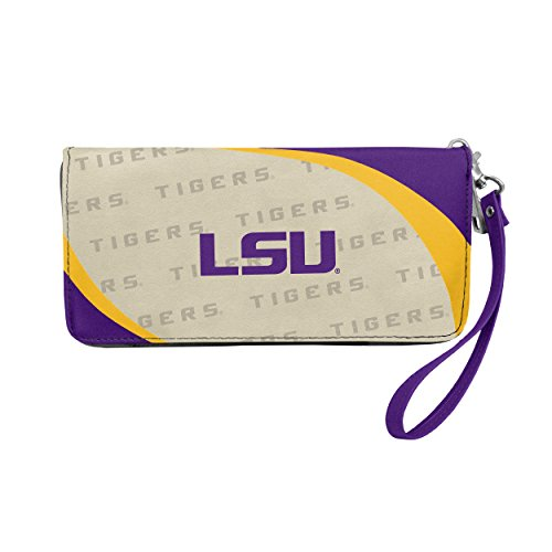 NCAA LSU Tigers Curve Zip Organizer Wallet