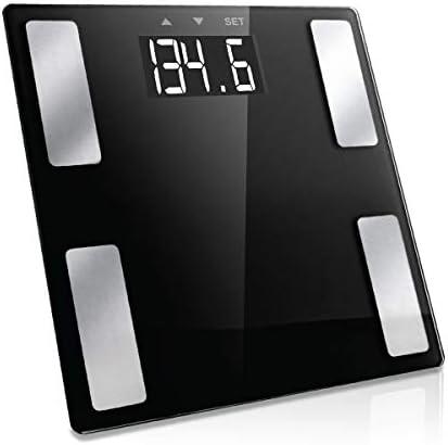 Vivitar Healthy Balance Body Analysis Digital Black Scale with Large LCD Display