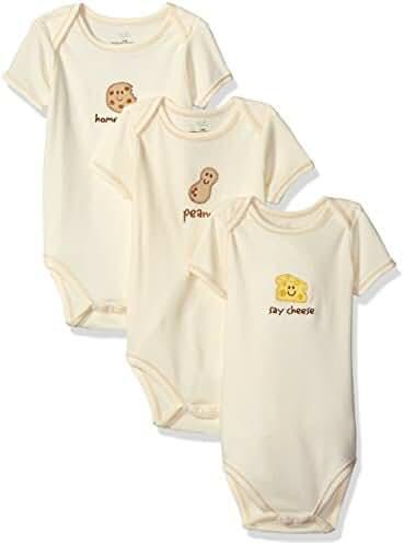 Organic Cotton Bodysuits, 3 Pack
