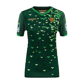 2ª equipación Réplica - Real Betis Balompié 2018/2019 - Kappa Kombat Replica Women Home - Mujer: Amazon.es: Deportes y aire libre