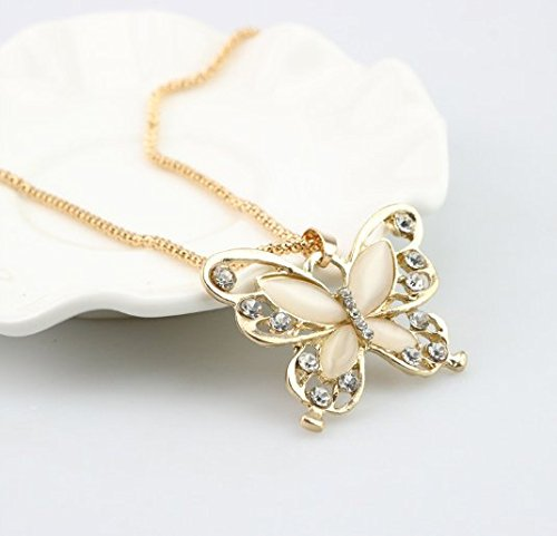 (1PCS Charms Women Decoration Fashion Plated Butterfly Pendant)