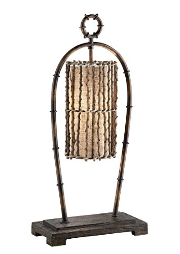 Crestview CVAER302 Malone Desk Lamp (Collection Lamp Table Tall Tiffany)