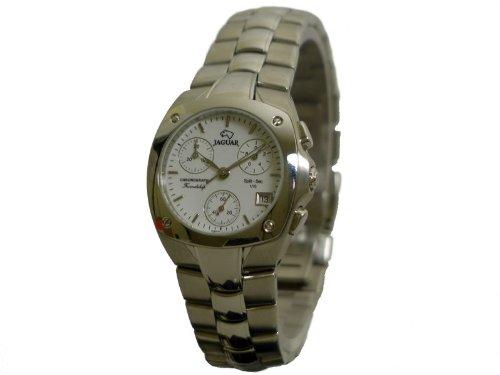 Jaguar J293/1 - Reloj para mujeres, correa de acero inoxidable