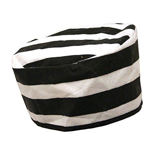[Jacobson Hat Company Felt Prisoner Hat, Adult, One Size] (Prison Halloween Costumes)