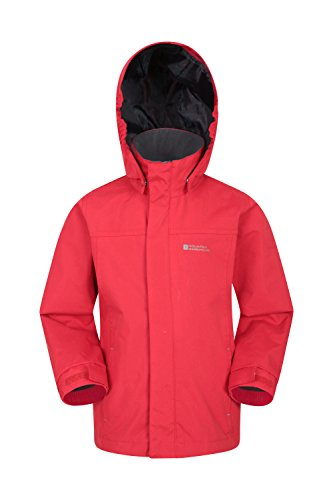 Coat Security Girls Suitable Coat Flap Waterproof Mountain Jacket Rain Durable Casual Pockets Boys Orbit Rain for Kids Red amp; Storm Childrens Warehouse Jacket Summer qx0UBYw
