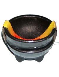 Get 2 Pack Black Plastic Earthenware Salsa Bowls - 10 oz deal