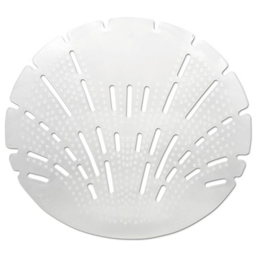 Big D 621 The Pearl 3D Urinal Screen, Melon Mist Fragrance, White (Pack of 10) - Anti-splash texture - Lasts up to 45 days - Ideal for restrooms in offices, schools, restaurants, hotels, stores