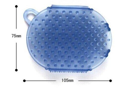 Services pour vous 2pcs anti-cellulite Body Massager Silicon Glove Gommage Exfoliant Brosse bain / douche